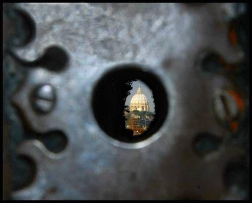 dziurka od klucza punkty widokowe rzym
