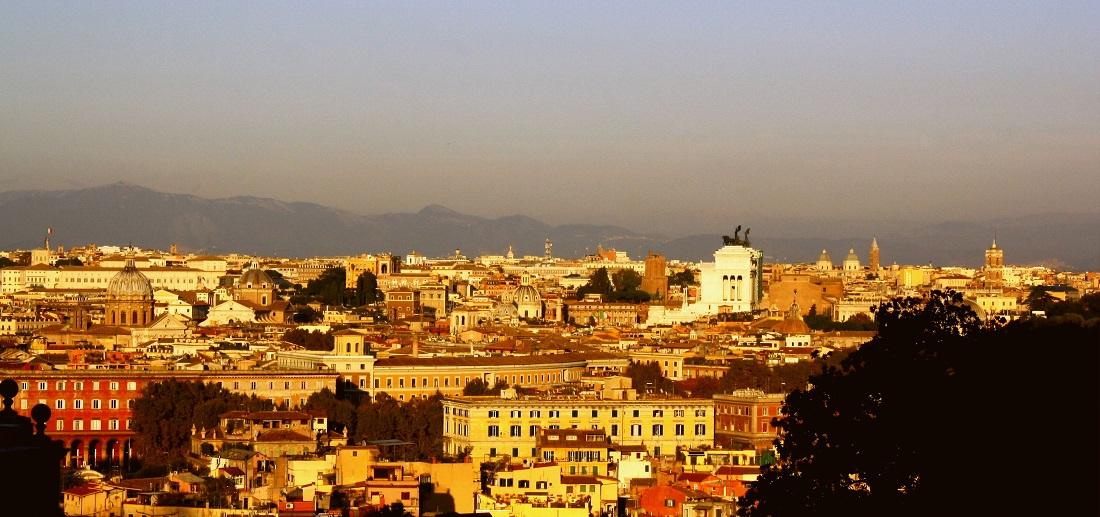punkty widokowe rzym