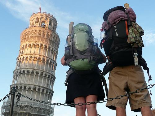 turysta a backpacker