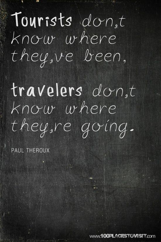 podróżnik a turysta
