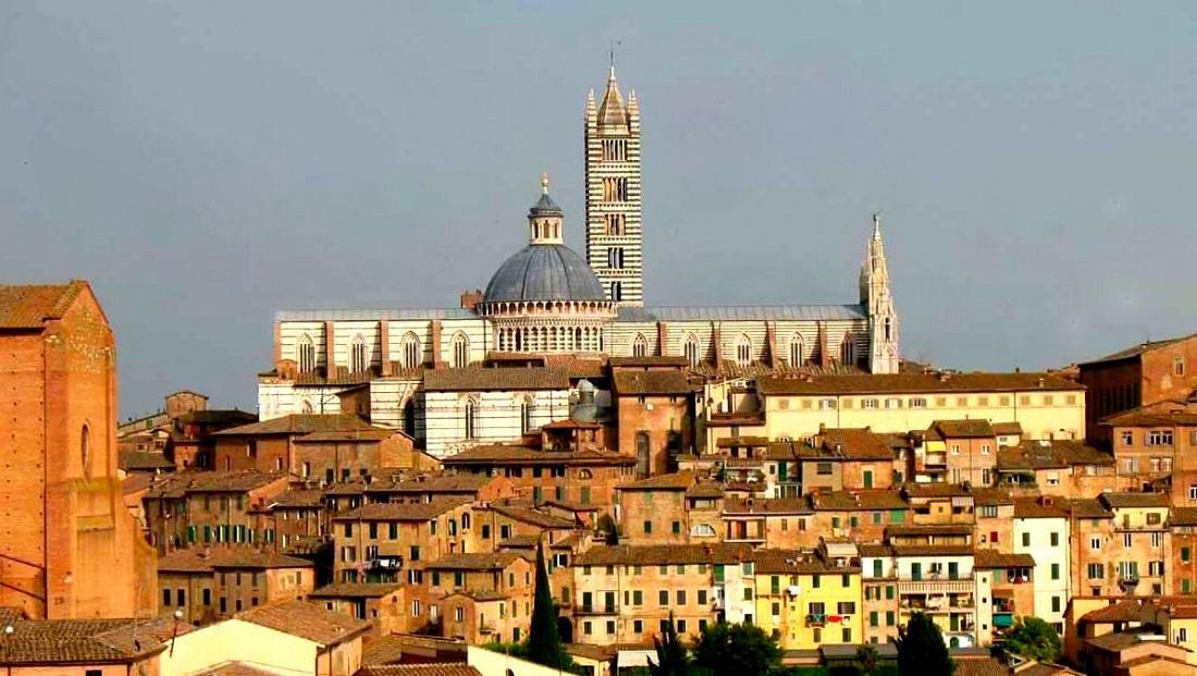zwiedzanie sieny, Siena, panorama Sieny, punkty widokowe Sieny, widok na Sienę