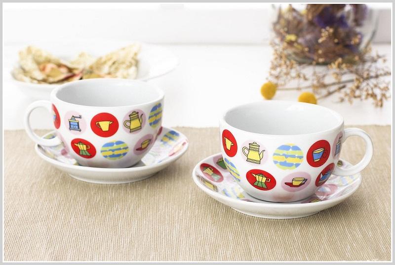 prezenty dla kawosza, prezenty dla italofila, prezenty dla miłośnika Włoch, filiżanki do cappuccino