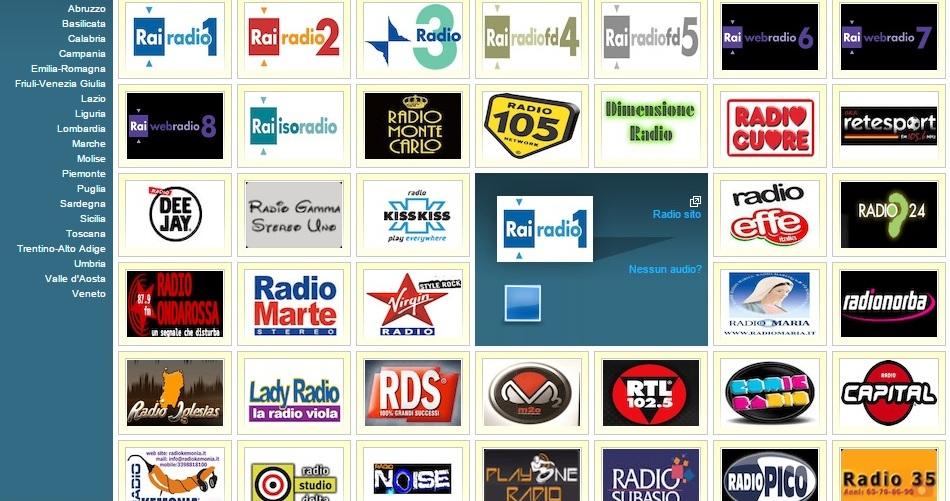 włoskie radio online