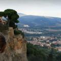 nie przespac zycia, jak zaczac biegac, jak zaczac podroz, przeceny we Wloszech, Orvieto, punkty widokowe we Wloszech, panorama Umbrii, panorama Toskanii