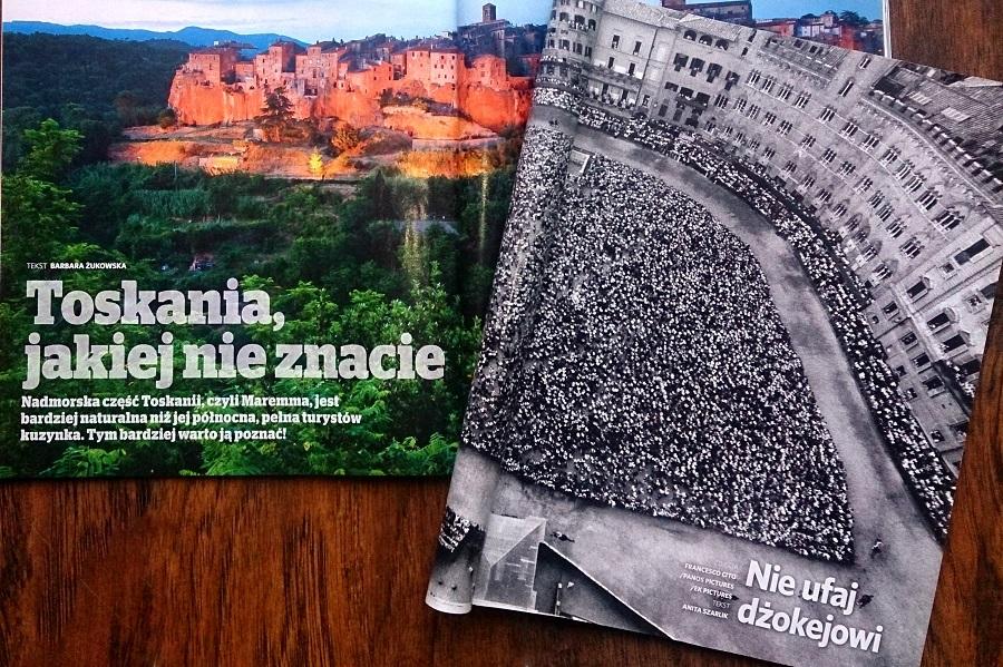Czasopisma pełne inspiracji. NG Traveller