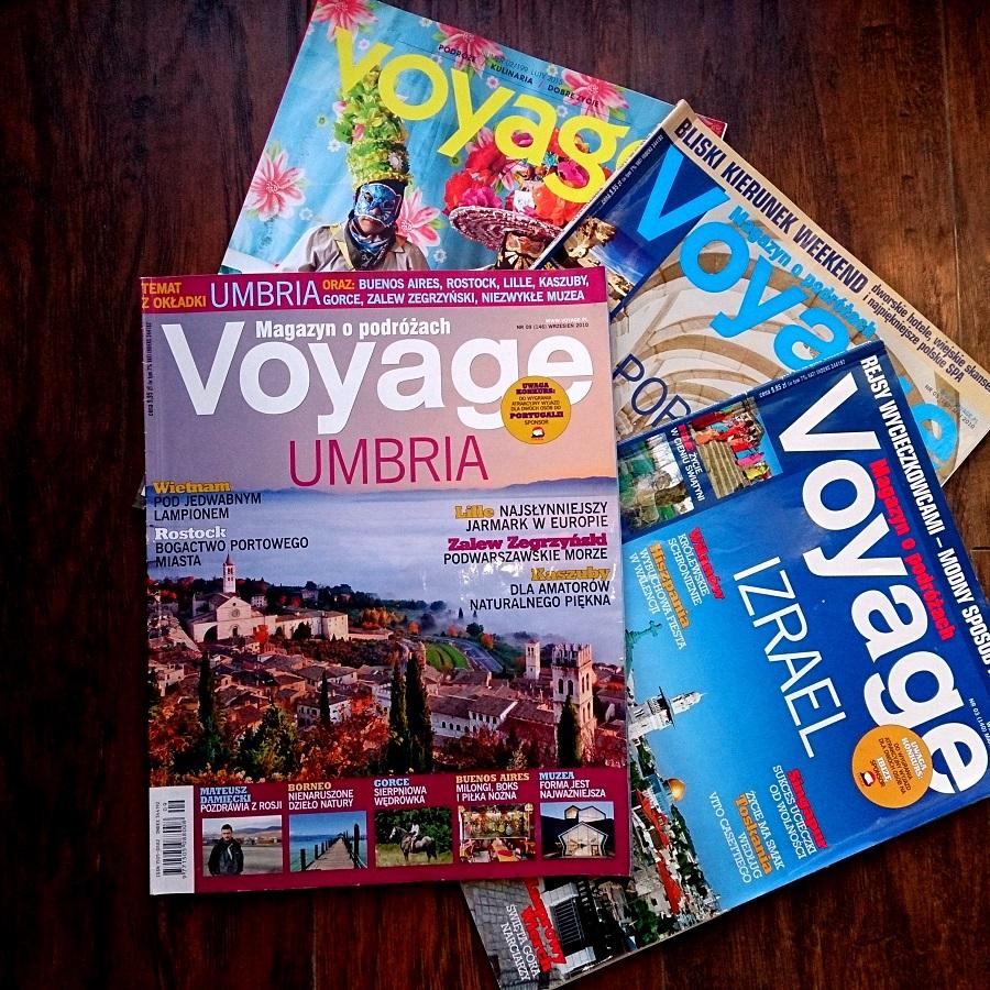 Czasopisma pełne inspiracji. Voyage