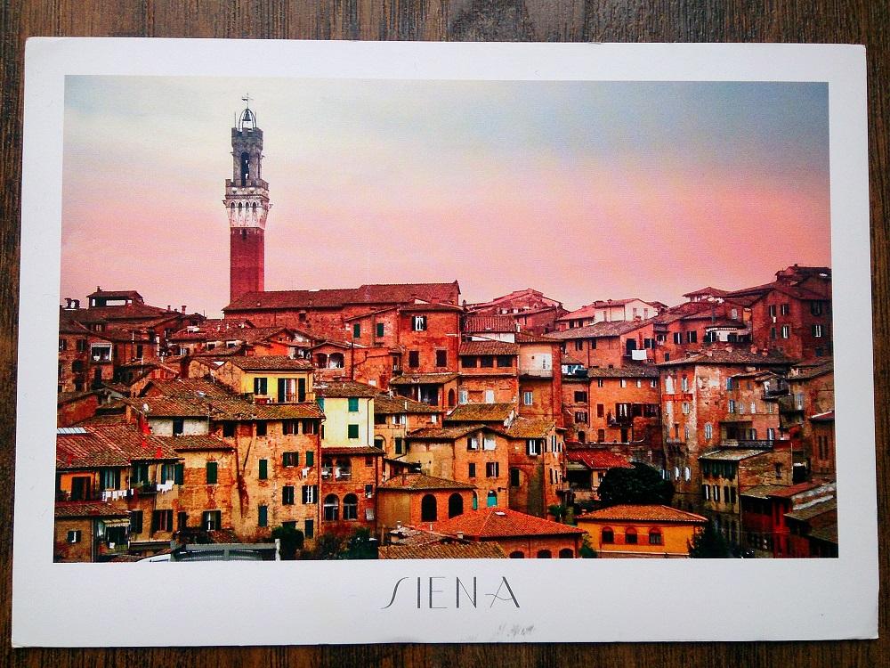 Siena zwiedzanie, siena palona, Toskania, panorama Sieny, Wieża Obżarstwa w Sienie