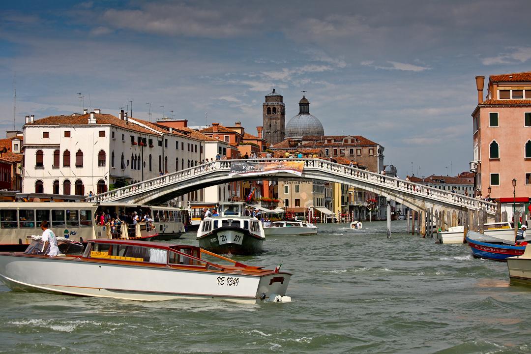 Ponte Rialto, kanały w Wenecji, Canale Grande