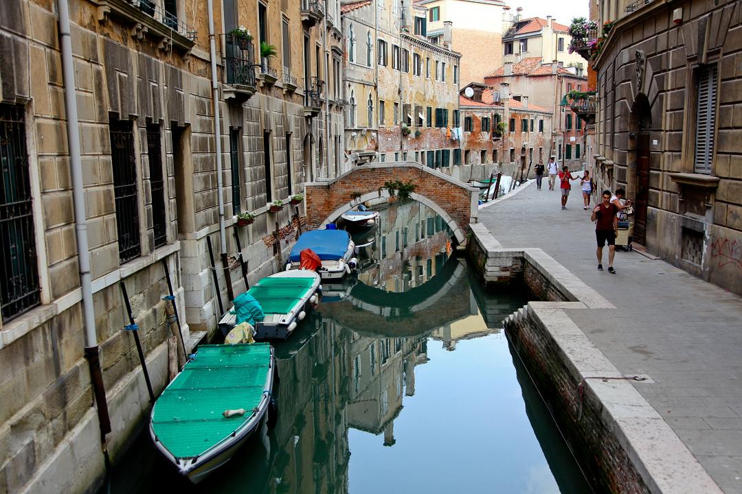 kanały w Wenecji, gondola, uliczki Wenecji