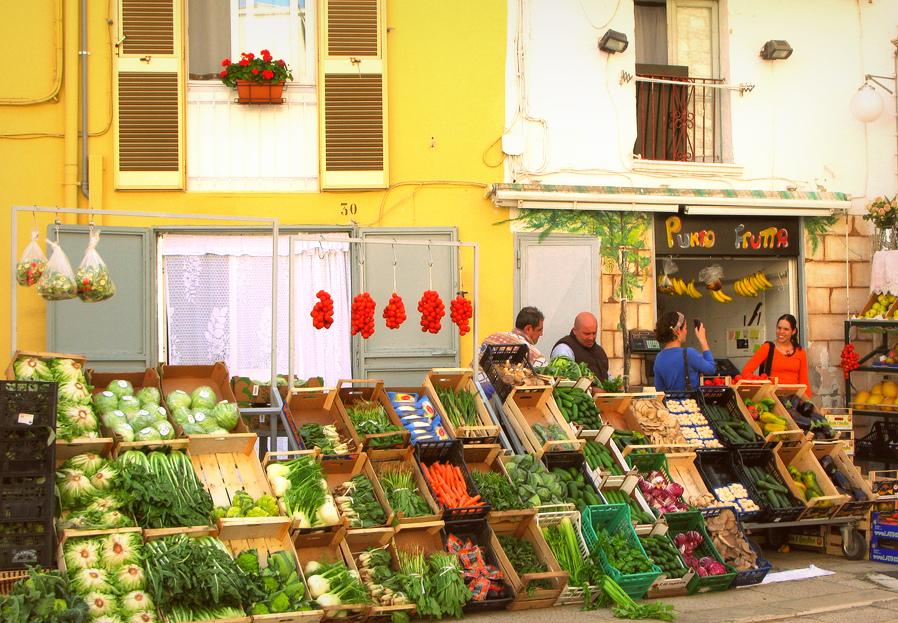 targowisko w Bari, gdzie robić zakupy w Bari, włoskie targowiska, zakupy w Apulii
