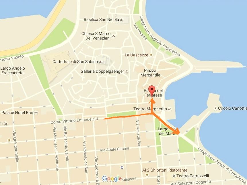 plan Bari, mapa Bari, zwiedzanie Bari, mapa Bari, plan Bari, Bari mapa, citta vecchia Bari, Bari ciekawe miejsca