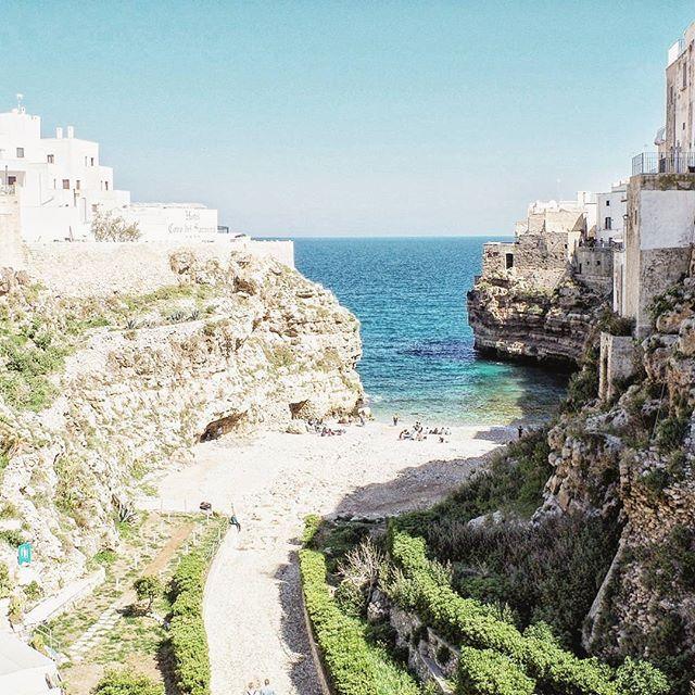 Polignano a Mare, Apulia, Co warto zwiedzić w Apulii, plaża polignano a mare, plaże w Apulii