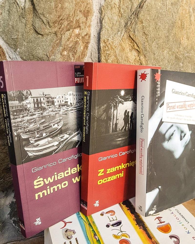 książki o Apulii, książki o Włoszech, Gianrico Carofiglio, Świadek mimo woli
