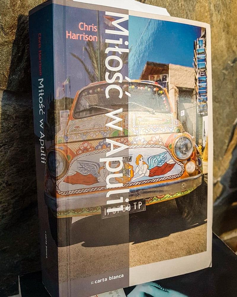 książki o Apulii, książki o Włoszech, Miłość w Apulii, Chris Harrison