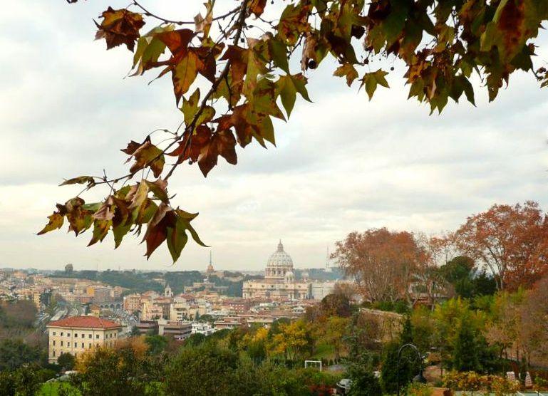 Rzym, Primo Cappuccino, panorama Rzymu, punkty widokowe Rzymu