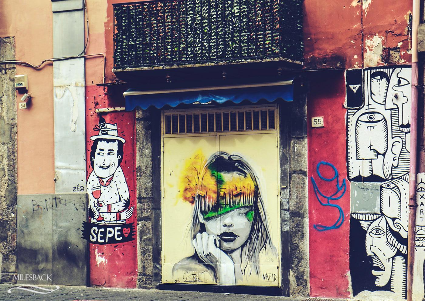 Kampania, co zobaczyć w Kampanii, street art Neapolu, włoski street art, street art we Włoszech, campania artecard, co to jest campania artecard, gdzie kupić campania artecard, transport w Neapolu, metro w Neapolu, komunikacja miejska w Neapolu,