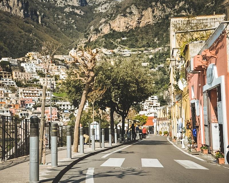 transport po Wybrzeżu Amalfi, jak dojechać do Wybrzeża Amalfi