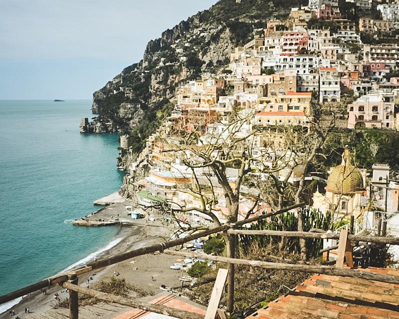 Wybrzeże Amalfi, Positano, przewodnik po Kampanii, przewodnik po Wybrzeżu Amalfi
